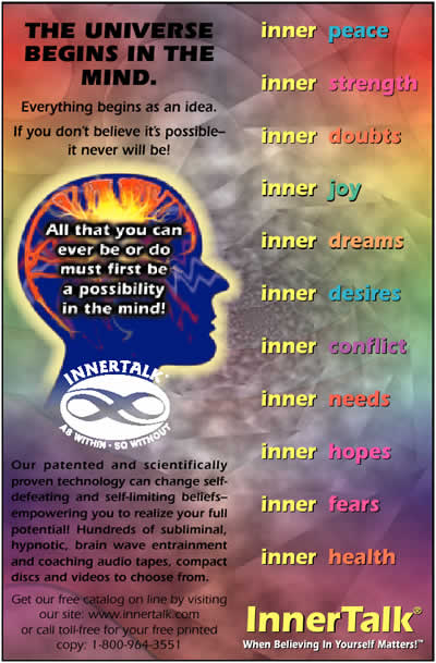 Advancing Your Mind Power Page 1 | InnerTalk - Subliminal