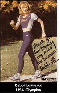 Debbi Lawrence, USA Olympian